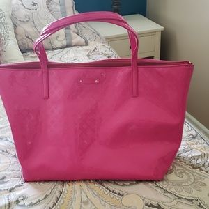 Kate Spade Hot Pink Patent Leather Handbag